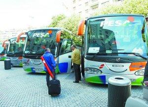 La línea de autobuses que unirá Zarautz (y Zumaia con autobuses de linea) con el aeropuerto vizcaíno de Loiu