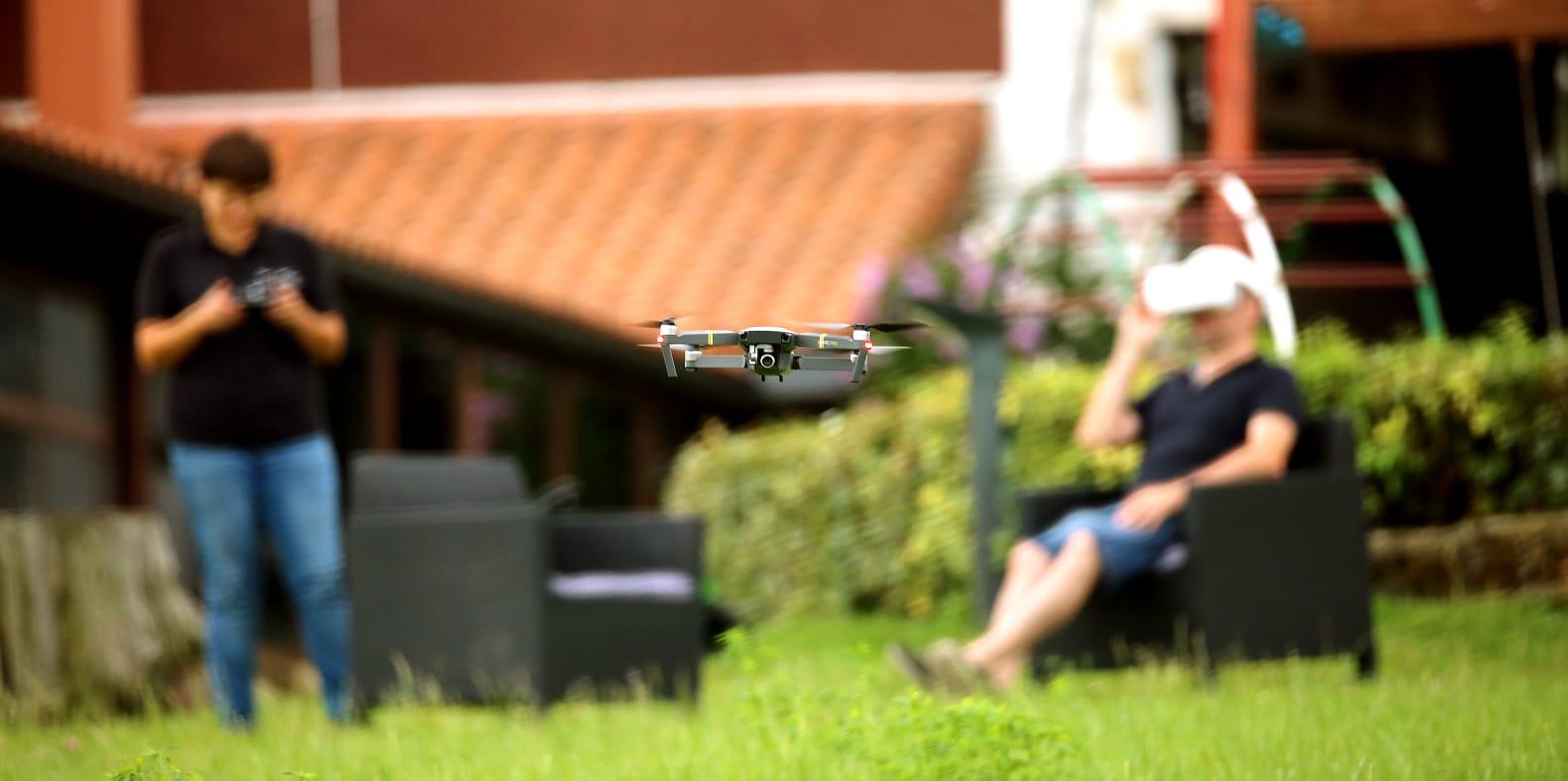 Experiencia DRON, Agroturismo Santa Klara